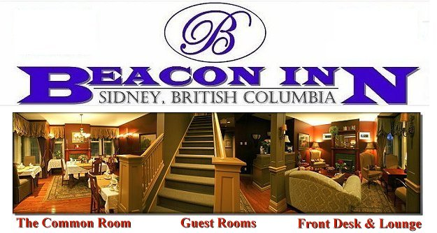 Sidney BC Bed and Breakfast Accommodations main floor description